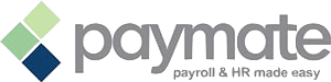 paymate payroll and hr made easy logo